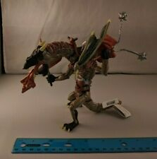 "Papo Winged Dragon Man 6"" Tall, Breathing Fire, Weapons, Armor, Wings"