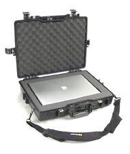 "Pelican 17"" Notebook Case - Stainless Steel - Black (1495000110) (1495-000-110)"