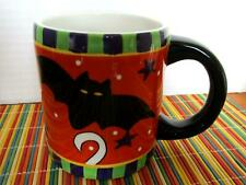 Vintage Ganz Halloween Mug Ghost with Bat Coffee Hot Chocolate Surprise Inside!