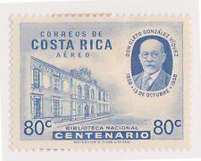 (CRA-459) 1955 Costa Rica 80c president Viquez MH