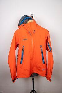 Mammut Nordwand Eiger Extreme Gore-Tex Pro Mens Orange Jacket Size M