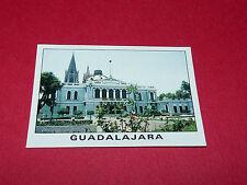 GUADALAJARA CITY VIEW RECUPERATION PANINI FOOTBALL MEXICO 86 WM 1986