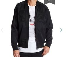 New/ tags Globe Stealth bomber jacket Mens M casual black skateboard GB01627001