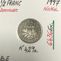 1/2 FRANC SEMEUSE - 1997 - Pièce de Monnaie en Nickel // BE