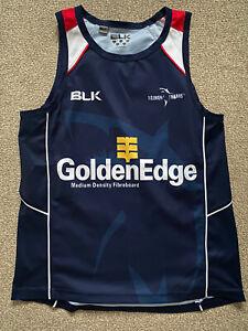 BLK rugby Vest - Tasman Makos - Super Rugby - Medium 40/42 Inch Chest