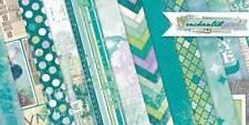 Bo Bunny Enchanted Garden Scrapbook Paper Kit Lot 12x12 (12 Sheets)