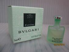 BVLGARI EXTREME AU THE VERT 0.17 FL oz / 5 ML Eau Parfumee Miniature In Box