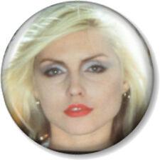 "BLONDIE Debbie Harry 25mm 1"" Pin Button Badge Punk Rock Pop Band Music Atomic"