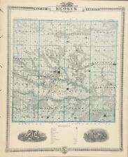 Antique Map Keokuk County Iowa - Andreas Atlas of the State of Iowa 1875