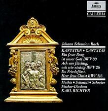 Bach: Cantatas BWV80,26,116 Bach, Mathis Audio CD