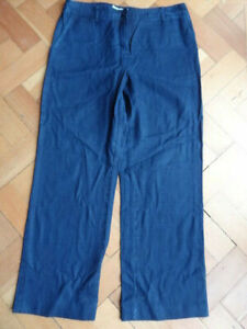 (202APR) Size 12 *VIYELLA* Dark blue denim jeans ladies