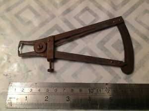 Vintage Caliper Measuring Engineering Tool From Clockmakers Collection