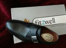 Black Oxford Man's Shoe - Fitzwell, Size 8.5M  Great Condition - New