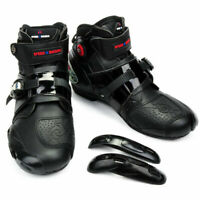 Men's Sport Motorcycle Waterproof Racing Leather Boots Moto Professional Shoes