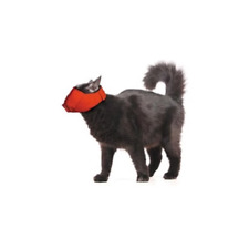 Four Flags Quick Adjustable Nylon Muzzle for Cats Medium Red 6-11 lbs