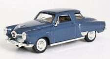 NIB Road Signature 1/43 Scale Blue 1950 Studebaker Champion for Lionel & MTH