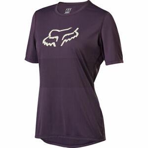 Fox Racing Women's 2020 Ranger Short Sleeve s/s Jersey Dark Purple