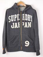 Superdry Herren Freizeit Reißverschluss Strickjacke Pullover Größe L ASZ1315
