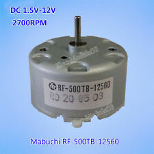 Mabuchi RF500TB-12560 Motor DC 1.5V-12V 4600RPM 32mm DC Motor for Spray machine