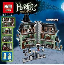 Monster fighter The haunted house Model set Building Kits Model Minifigure Toy