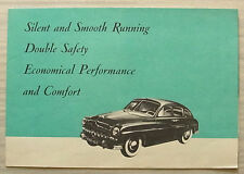 FORD V8 VEDETTE Car Sales Brochure c1949 SALOON Coupe CONVERTIBLE