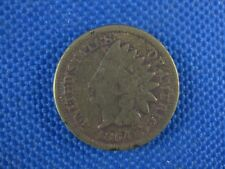 1864 US INDIAN HEAD CENT COIN
