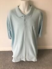 Perfect Collection Polo Shirt Light Blue Size 3XL