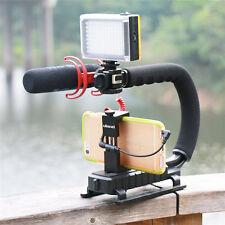 U-Shape Camera/Camcorder DSLR Stabilizer Bracket Video Handheld Grip Holder UK