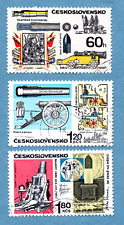 CZECHOSLOVAKIA stamps, 1970, Historic Artillery, 3 stamps