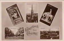COVENTRY ( Warwickshire) : Greetings Multiview RP