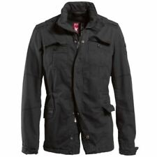 Regular Size 100% Cotton Military Coats & Jackets for Men