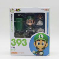 Nendoroid Super Mario Brothers Luigi Mario PVC Action Figure Model Toy