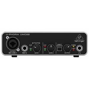 Behringer UMC22 U-PHORIA USB Audio Interface | Free UK Delivery