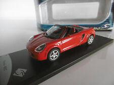 SOLIDO    cabriolet   TOYOTA  MR2  rouge  ech 1/43   neuf  die cas métal