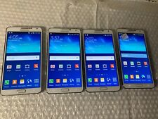 New listing Lot of 4x Samsung Note 3 32Gb - Gsm Unlocked - excellent conditions (Za03)