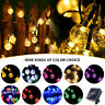 20 30 50 LED Solar  Fairy Lights Crystal Ball Garden Outdoor Party Decor Lamps