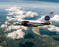 PAN AMERICAN WORLD AIRWAYS BOEING 747SP 16x20 SILVER HALIDE PHOTO PRINT