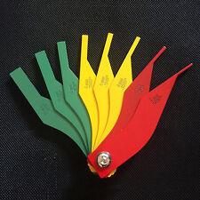 8 in1 Brake Lining Thickness Gauge Measure Ruler Brake Pad Scale Kit 3 Colors