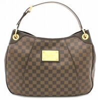 LOUIS VUITTON Damier Galliera PM N48212 Ebene Hand Tote Bag Never Used Mint
