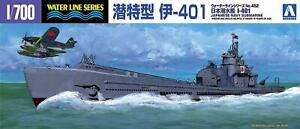 Aoshima 1/700 IJN Submarine I-401 Waterline Hull