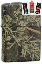 Zippo 24072 realtree advantage max Lighter + FUEL FLINT & WICK GIFT SET