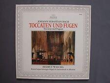 "LP 12"" 33 rpm 19?? JOHANN SEBASTIAN BACH - TOCCATEN UND FUGEN TOCCATA E FUGA"