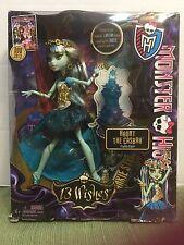 RARE Monster High Doll Haunt The Casbah Frainkie Stein 13 Wishes 2013 RETIRED