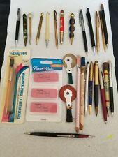 Vintage LOT of 21 mechanical pencils SHEAFFER, CROSS,READYRITER, AutoPoint +