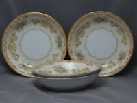 VINTAGE NORITAKE pattern 1930's?, set 4 FRUIT / SAUCE BOWLS EXCELLENT CONDITION