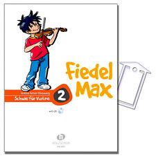 Fiedel-Max für Violine 2 - ViolinSchule, CD, NotenKl. - VHR3802 - 9783920470436
