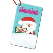 Personalised Any Name Rectangle Christmas Bauble Tree Decoration Gift 180