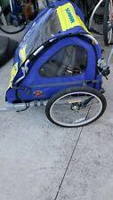 Schwinn Bike Trailer - Blue/Yellow