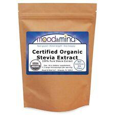 Organic White Stevia Extract Powder - 100% Pure - No Fillers! 16 oz/1 lb. Bulk