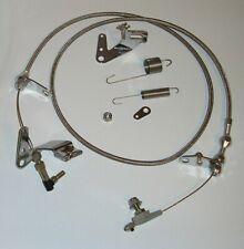Chrysler Dodge Mopar 727 Kickdown Cable Carb Bracket Linkage & Return Springs